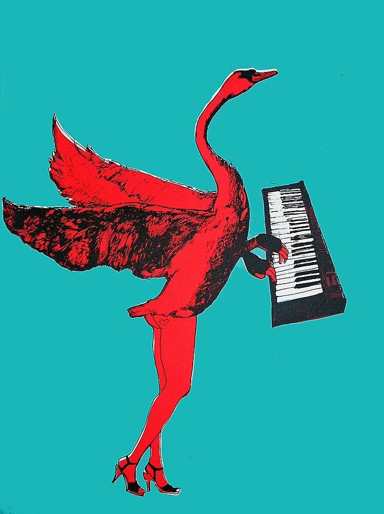 swan gloves by hazel welch