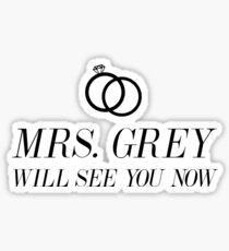 Mrs. Grey Sticker