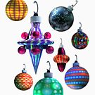 Christmas Ornaments by Dave Martsolf
