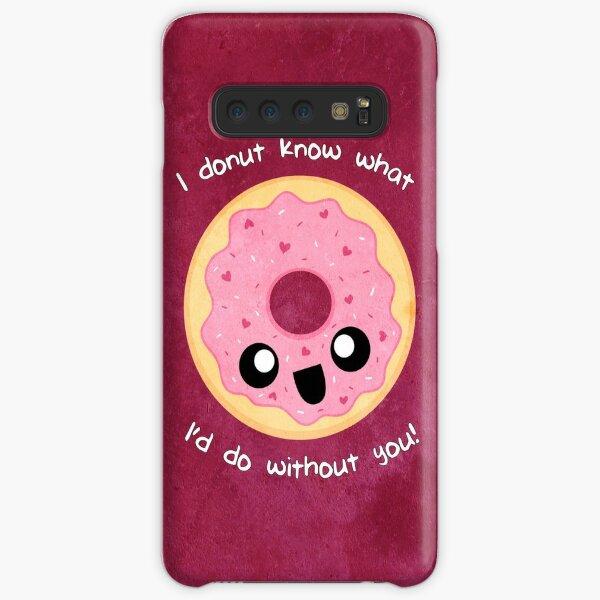Valentine Donut Samsung Galaxy Snap Case