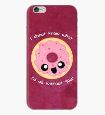 Valentine Donut iPhone Case