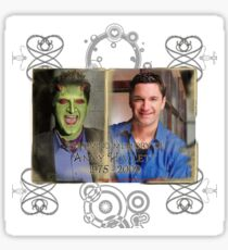In Loving Memory of Andy Hallett Sticker