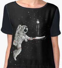 Space cricket Women's Chiffon Top