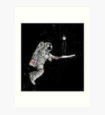 Space cricket Art Print
