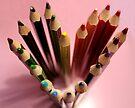 Crayon heart by Victoria Kidgell