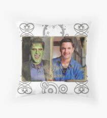 In Loving Memory of Andy Hallett Throw Pillow