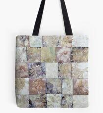 Eco Print Leaves Patchwork Tote Bag