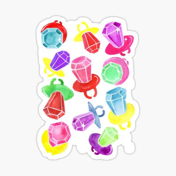 Ring Pop Cosmic Sparkle - Purple Sticker