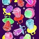 Ring Pop Cosmic Sparkle - Purple by makemerriness