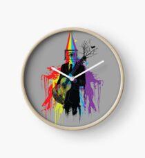 Surrealism man guitarist Clock