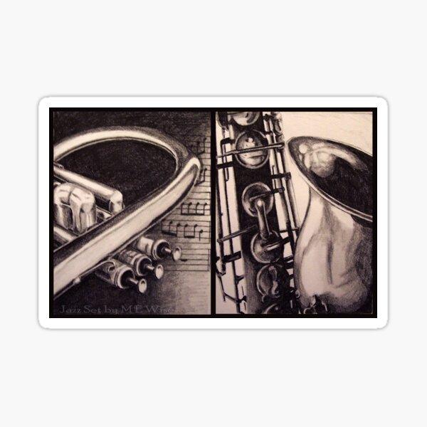 Jazz Set  Sticker