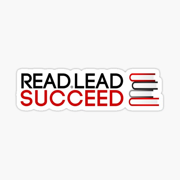 Read. Lead. Succeed! Sticker