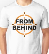 From Behind Unisex T-Shirt