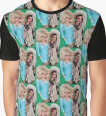 Trixie And katya green screen Graphic T-Shirt