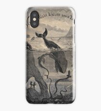 20,000 Leagues Under the Sea, Frontispiece 1871 iPhone Case/Skin