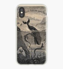 20,000 Leagues Under the Sea, Frontispiece 1871 iPhone Case
