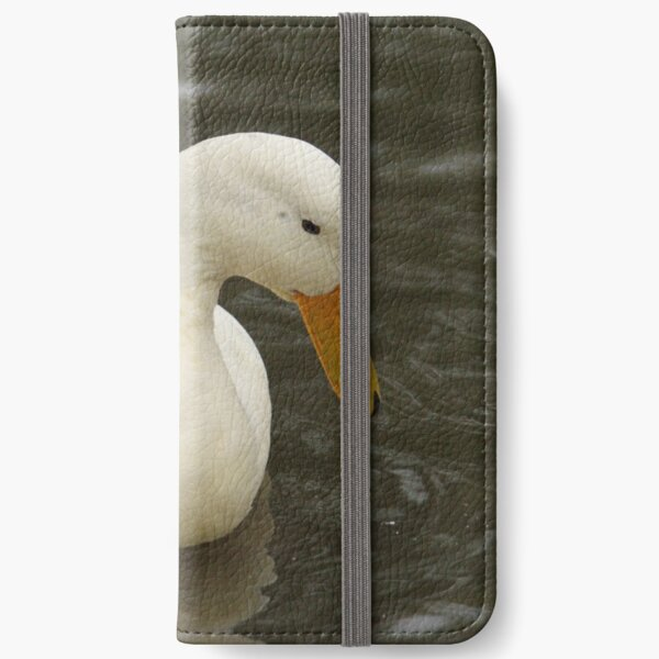 Little White Duck iPhone Wallet