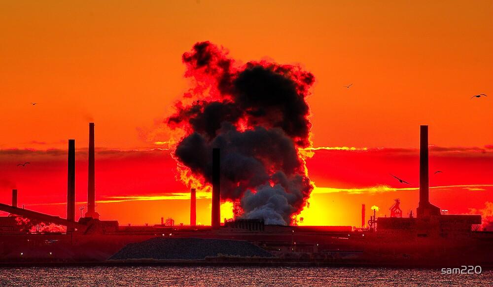 Steam Sunrise by sam220