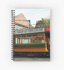 Vintage Tram Spiral Notebook