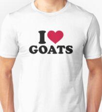 I love goats Unisex T-Shirt