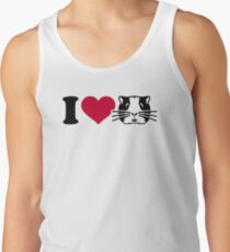 I love Hamster Guinea pig Tank Top