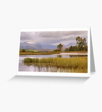 Wise Een Tarn Greeting Card