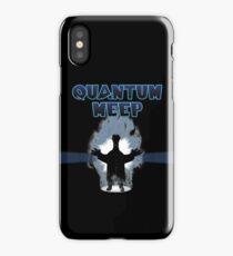 Quantum Meep iPhone Case/Skin