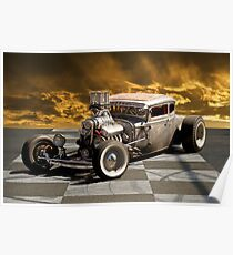 Rat Rod Coupe lll Poster