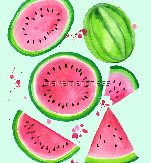 Nice Melons - Mint by makemerriness
