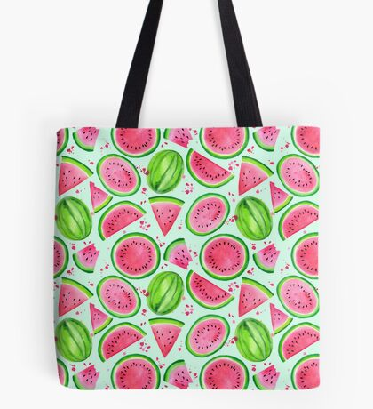 Nice Melons - Mint Tote Bag