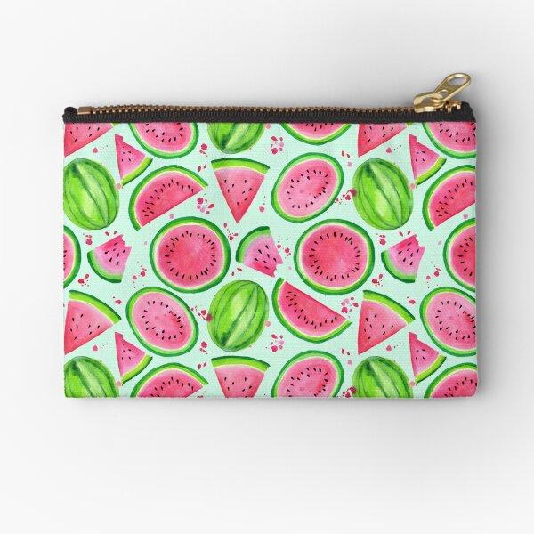 Nice Melons - Mint Zipper Pouch
