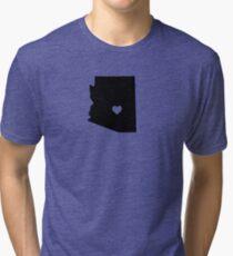 Arizona <3 Tri-blend T-Shirt
