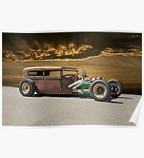 Rat Rod Sedan ll Poster