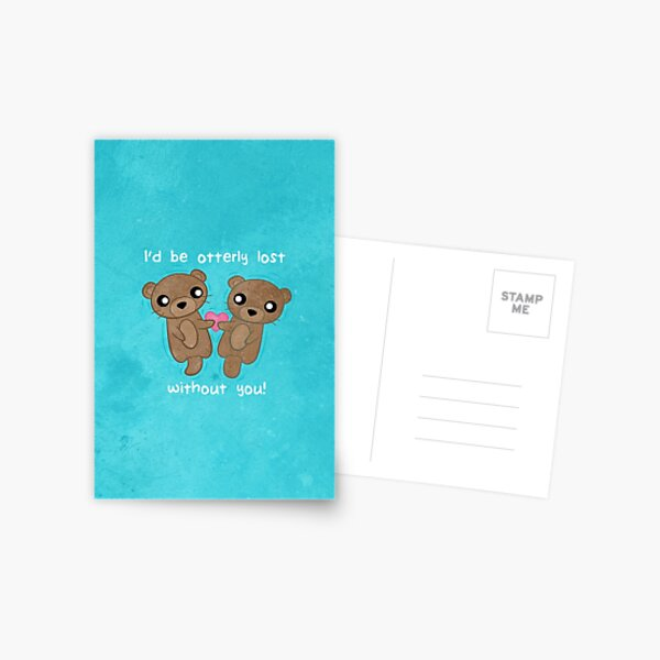 Otterly Adorable Postcard