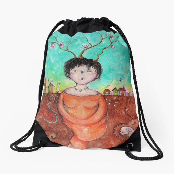 Birthday girl Drawstring Bag