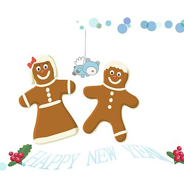 MR AND MRS GINGERBREAD MAN by shecazza