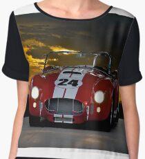 1966 Shelby Cobra 'On the Dark Side' Women's Chiffon Top