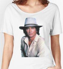 Michael Landon Women's Relaxed Fit T-Shirt