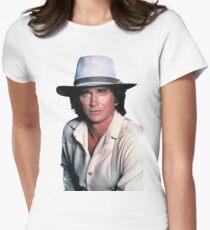 Michael Landon Women's Fitted T-Shirt
