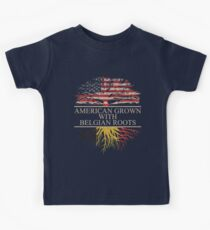 American Grown with Belgian Roots Kids Clothes