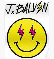 J Balvin - Logo Poster