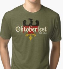Oktoberfest Established 1810 Tri-blend T-Shirt