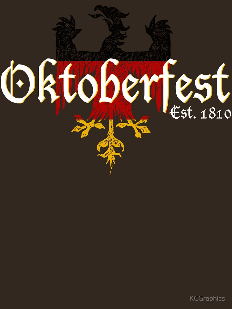 TShirtGifter presents: Oktoberfest Established 1810 | Unisex T-Shirt