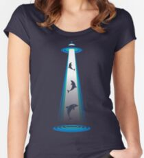 So Long and Thanks for all the Fish Women's Fitted Scoop T-Shirt