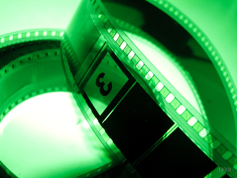 Film in Green  by I333I
