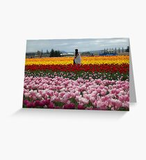 Colorful Love  Greeting Card