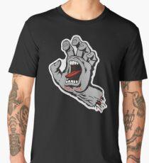 Santa Cruz Screeming Hand Grey Men's Premium T-Shirt