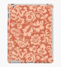 William Morris Floral Damask, Peach and Coral  iPad Case/Skin