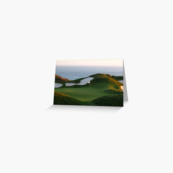 A Par for the Course Greeting Card