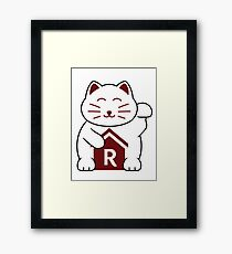Cat shirt for Cat Shirt Fridays Framed Print